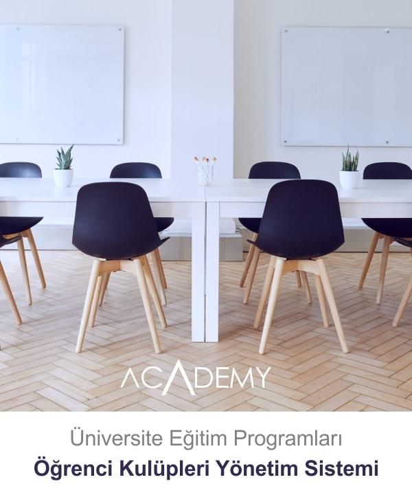 Academy Üniversite Eğitimleri | Öğrenci Kulüpleri Yönetim Sistemi
